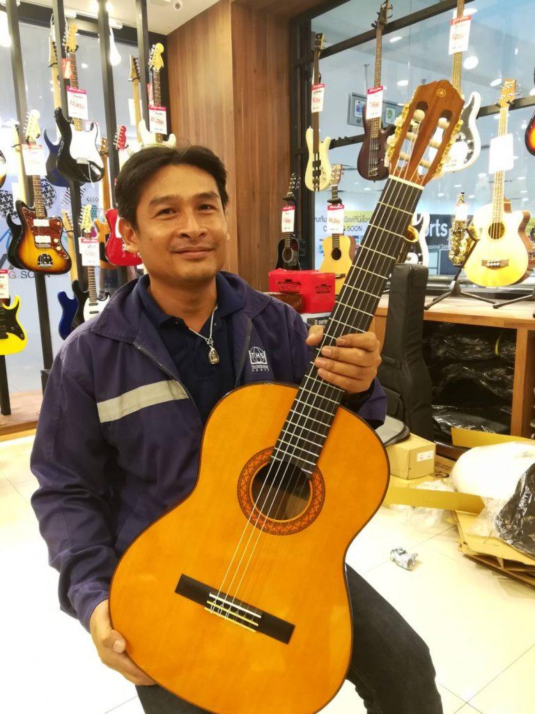 ลูกค้าที่ซื้อ Yamaha C70 กีต้าร์คลาสสิคราคาถูก