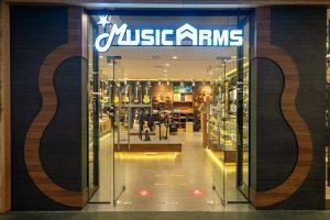ร้านใหม่ Music Arms สาขาซีคอน ศรีนครินทร์ ชั้น 2