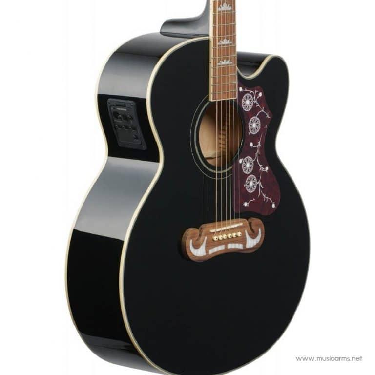 Color black Epiphone EJ-200SCE ขายราคาพิเศษ