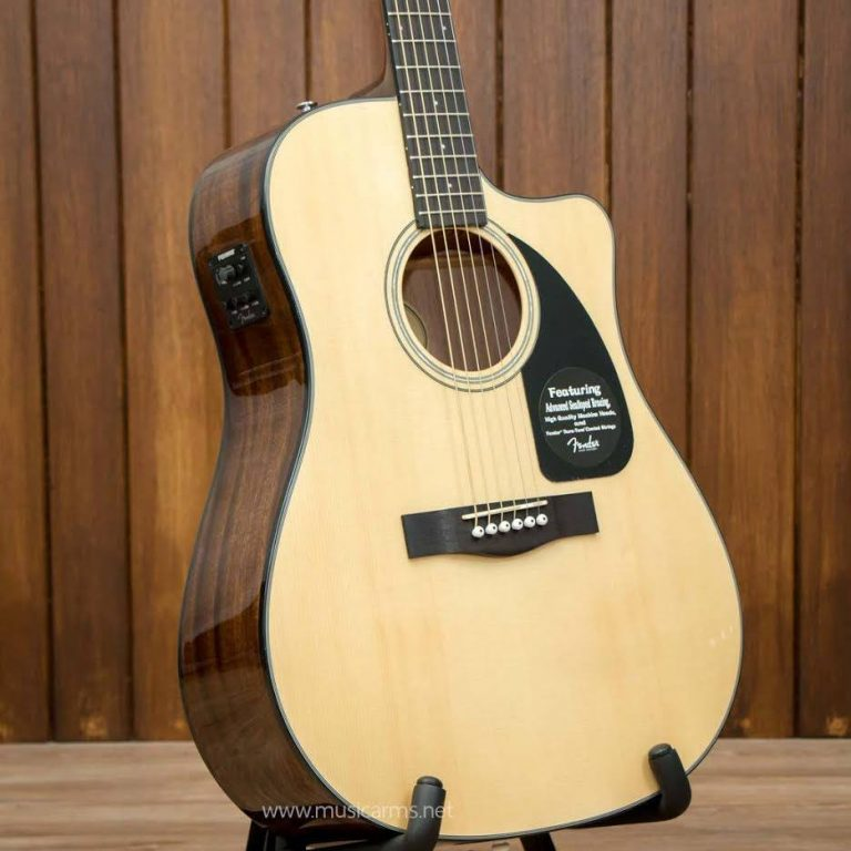 Fender Acoustic CD-60CE body ขายราคาพิเศษ