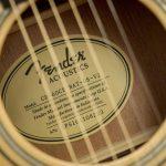 Fender Acoustic CD-60CE hole ขายราคาพิเศษ
