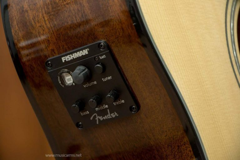 Fender Acoustic CD-60CE pickup ขายราคาพิเศษ