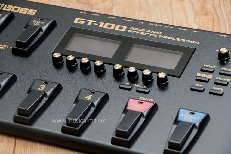 Boss GT-100 เอฟเฟค ขายราคาพิเศษ