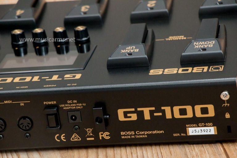 Boss GT100 เอฟเฟค ขายราคาพิเศษ