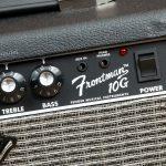 Fender Frontman 10G ปุ่มคอนโทรล ขายราคาพิเศษ