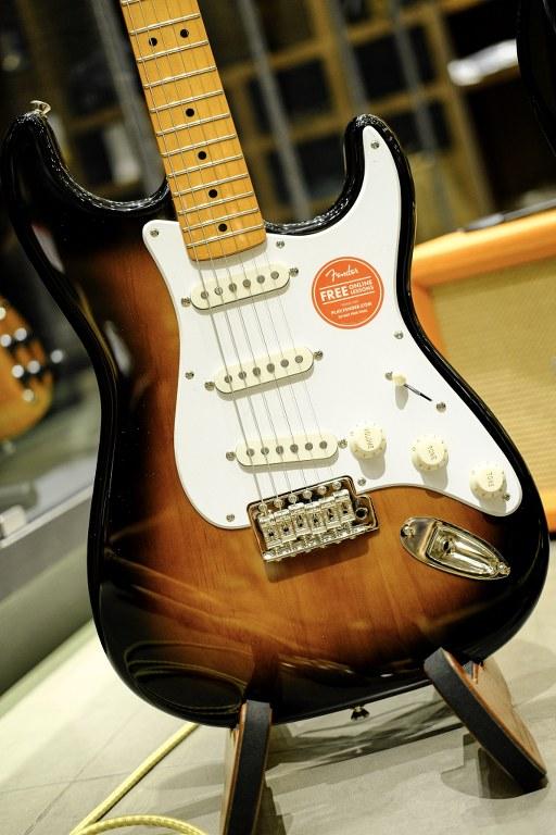 Showcase Squier Classic Vibe Stratocaster 50s