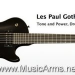 Gibson Les Paul Gothic Morte ลดราคาพิเศษ