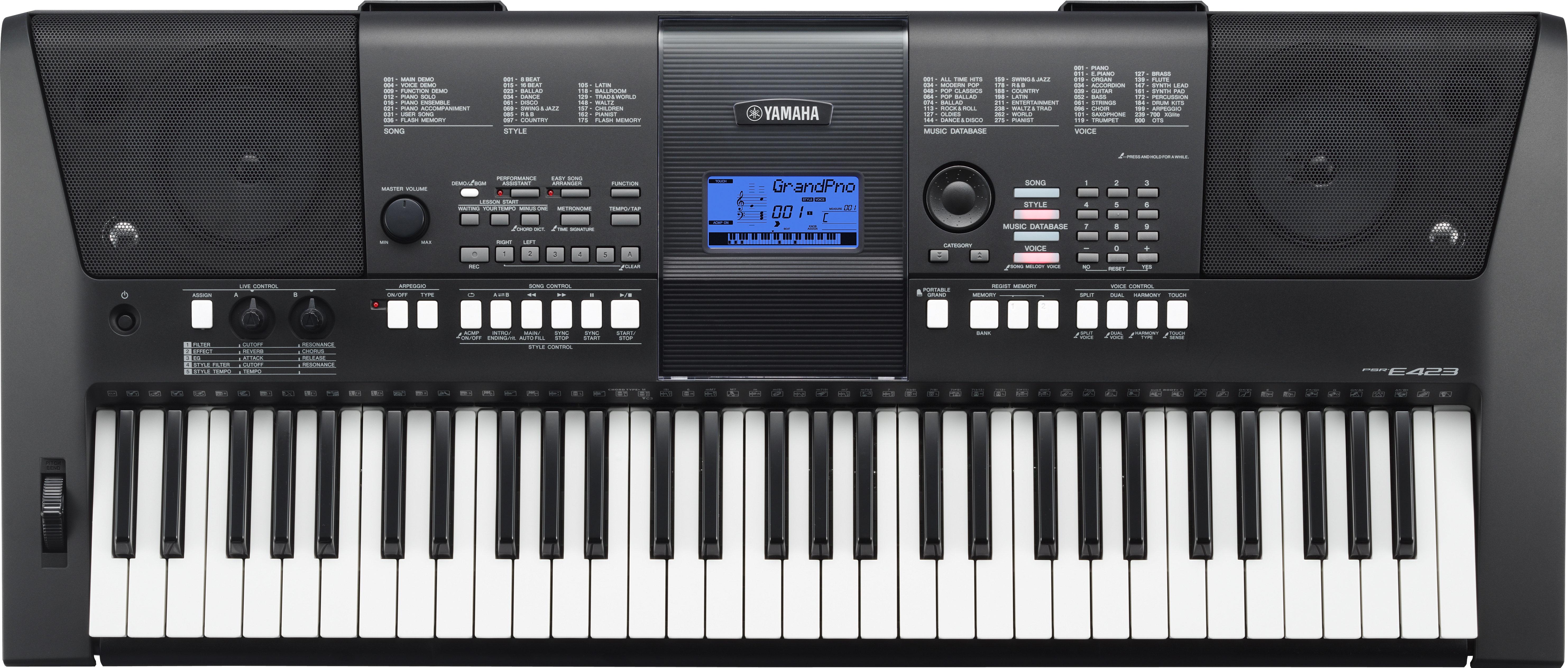 Psr-e423 Keyboard Yamaha