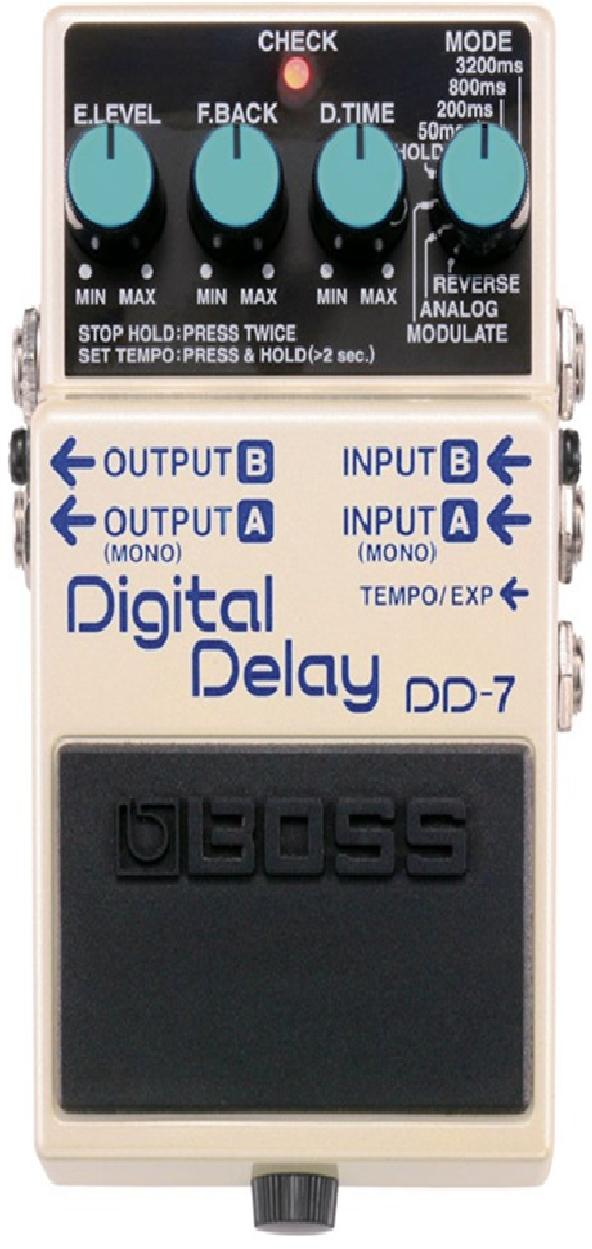 เอฟเฟค BOSS DD-7 Digital Delay