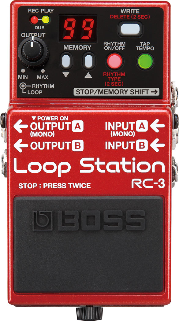 เอฟเฟค BOSS RC-3 LOOP STATION