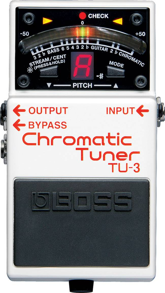 เอฟเฟค BOSS TU-3 Chromatic Tuner