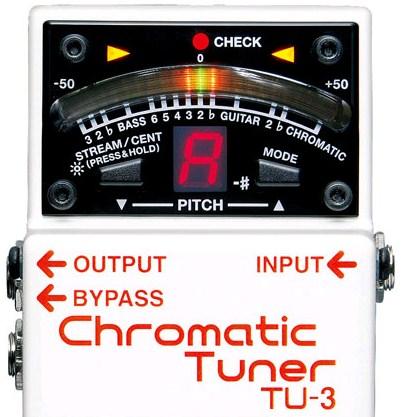 BOSS TU-3 Chromatic Tuner ขายราคาพิเศษ
