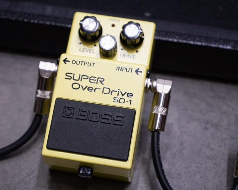 Showcase Boss SD-1 Super Overdrive