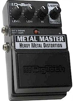 Digitech Matal Master Heavy Metal Distortion ขายราคาพิเศษ