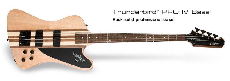 EPIPHONE THUNDER BIRD PRO IV BASS Wood ขายราคาพิเศษ