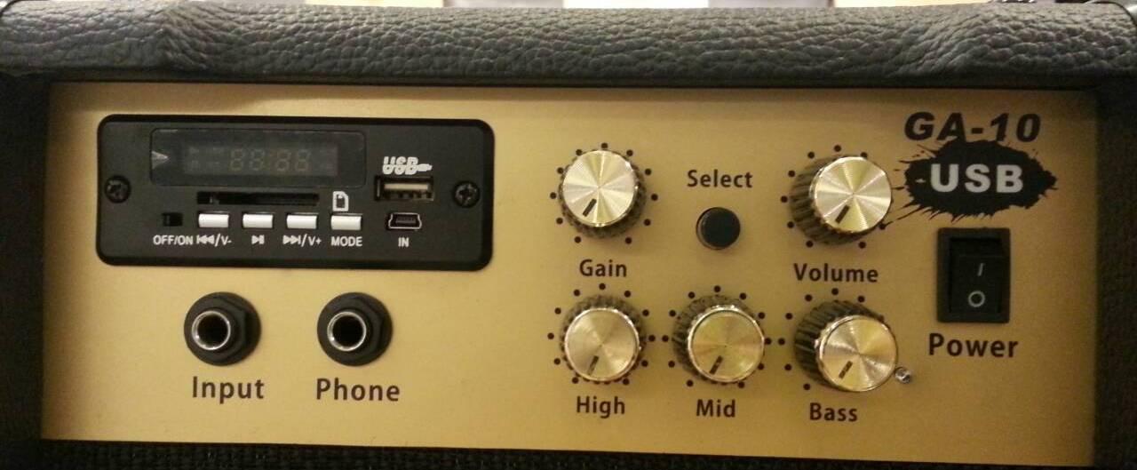 Amp Quake GA-10USB Top ขายราคาพิเศษ