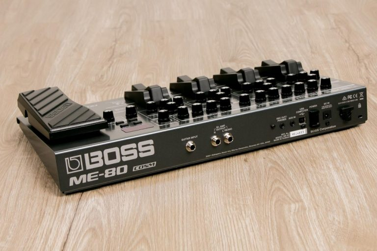 Boss ME-80 เอฟเฟค ขายราคาพิเศษ