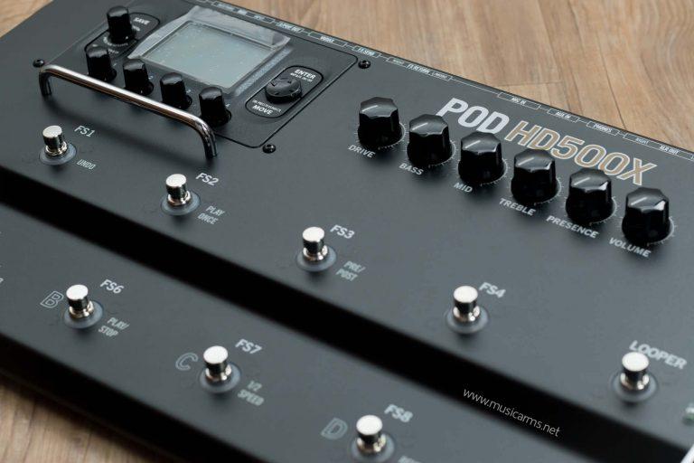 Line 6 POD HD500X Guitar Multi-Effects ขายราคาพิเศษ