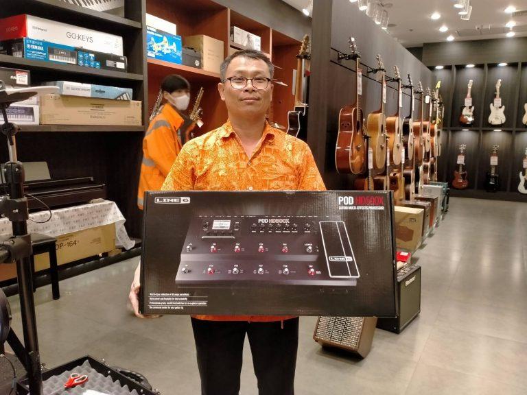 ลูกค้าที่ซื้อ Line6 Pod HD500 X