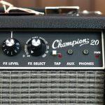 Fender Champion 20 ปุ่มคอนโทรล ขายราคาพิเศษ