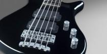 หน้าตรง สีดำ Rockbass bass 5 streamer standard ราคาประหยัดจาก Warwick