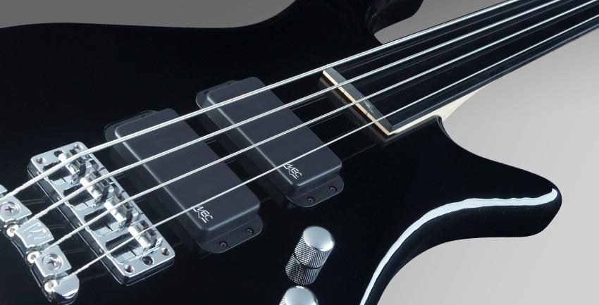 หน้าตรง สีดำ Rockbass bass 4 streamer standard ราคาประหยัดจาก Warwick