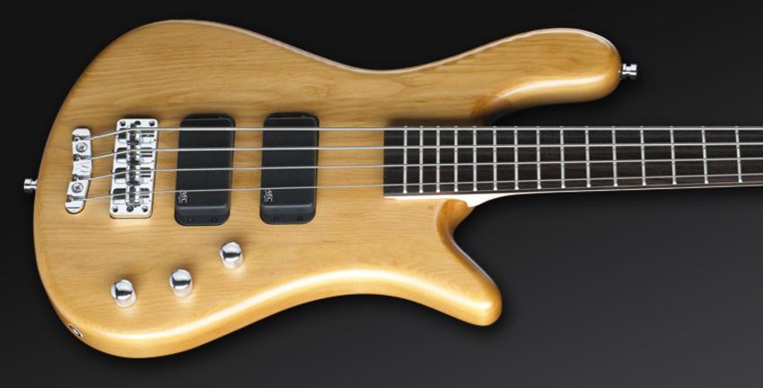 หน้าตรง สีไม้ ธรรมชาติ บอดี้ Rockbas bass 4 streamer standard ราคาประหยัดจาก Warwick