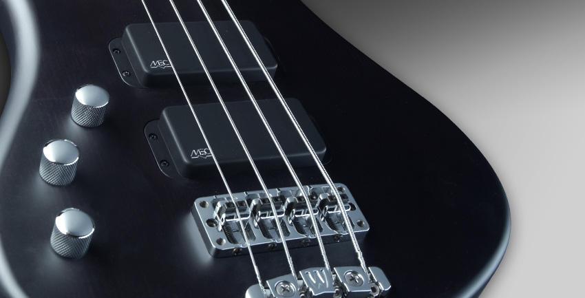 หน้าตรง สีดำ อีโบนี่ แผ่งหย่อง Rockbass bass 4 streamer standard ราคาประหยัดจาก Warwick