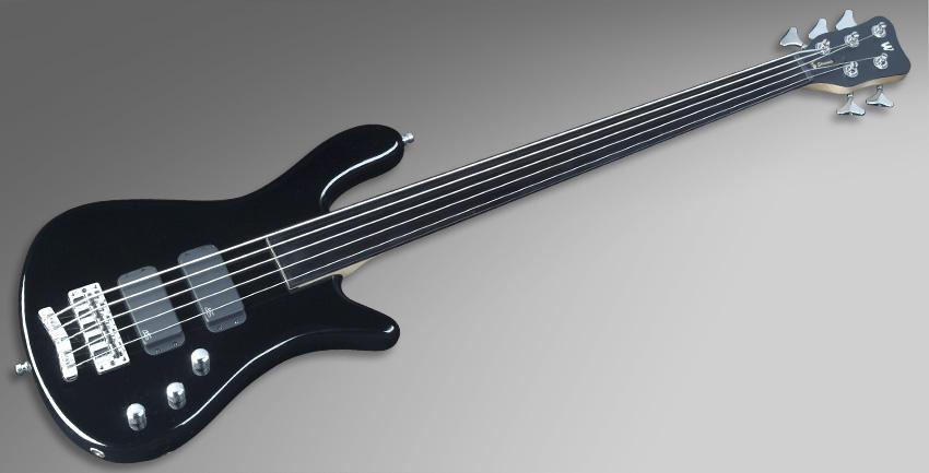 เต็มตัว สีดำ Rockbass bass 5 streamer standard ราคาประหยัดจาก Warwick