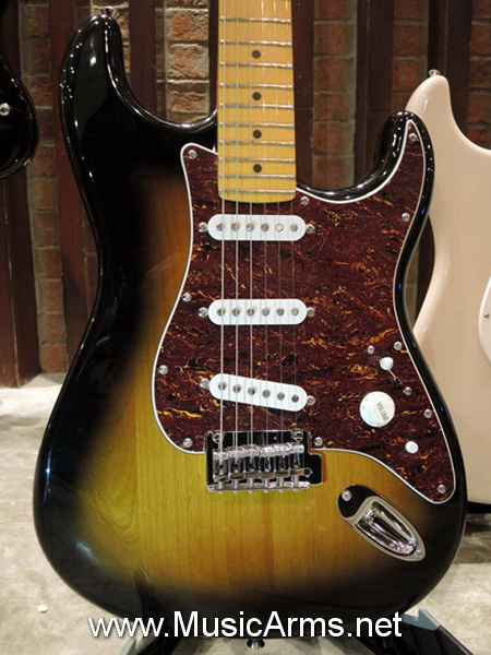 Squier O- LARN SIGNATURE STRATOCASTER SERIES II BY FENDER Vintage SunBrust ขายราคาพิเศษ