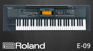ROLAND E-09 KEYBOARD ขายราคาพิเศษ