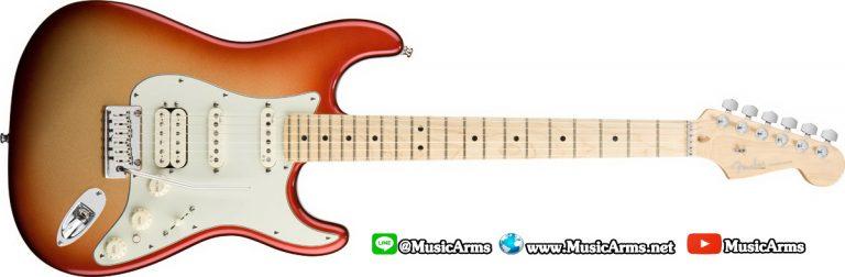 American Deluxe Strat HSS-sunset metallic ขายราคาพิเศษ