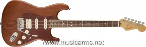 RECLAIMED-OLD-GROWTH-REDWOOD-STRATOCASTER- ขายราคาพิเศษ