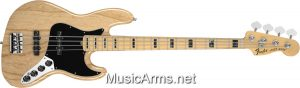 AM DELUXE JAZZ BASS MN Natural ASH
