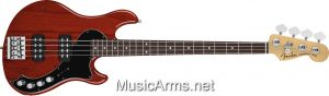 AM. DELUXE DIMENSION BASS IV HH RW Cayenne burst