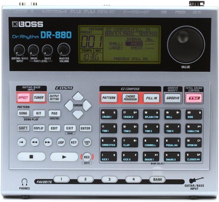 Boss DR-880 Rhythm Machines ขายราคาพิเศษ