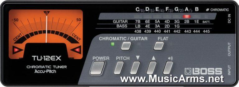 Boss TU-12EX Tuners/Metronomes ขายราคาพิเศษ