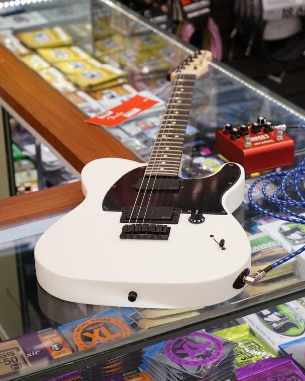 Showcase Fender Jim Root Telecaster White
