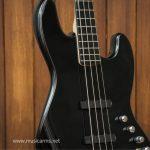 Squier Deluxe Jazz Bass Active black ขายราคาพิเศษ