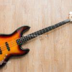 Squier Deluxe Jazz Bass Active sunburst ขายราคาพิเศษ