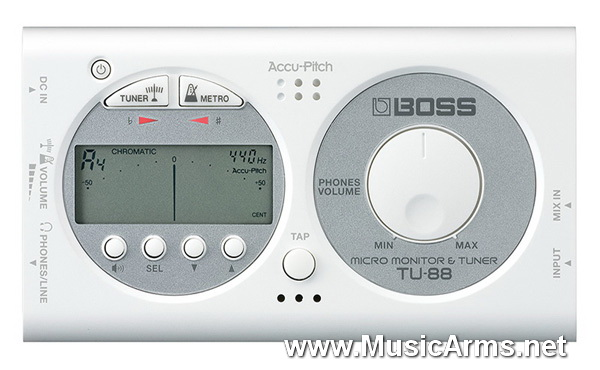 Boss TU-88 Tuners/Metronomes ขายราคาพิเศษ