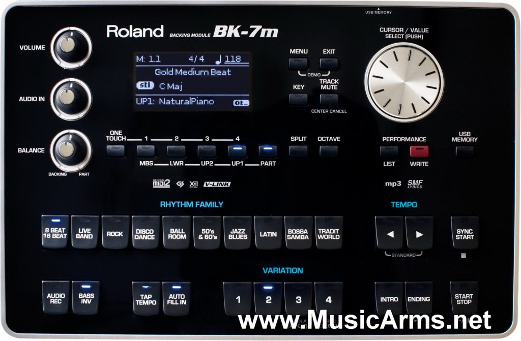 BK-7M Backing Module Roland