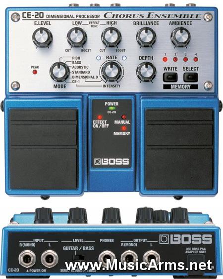 Boss CE-20 Chorus Ensemble ขายราคาพิเศษ