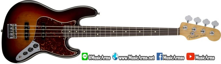 fender-am-std-j-bass-rw-3-Color Sunburst ขายราคาพิเศษ