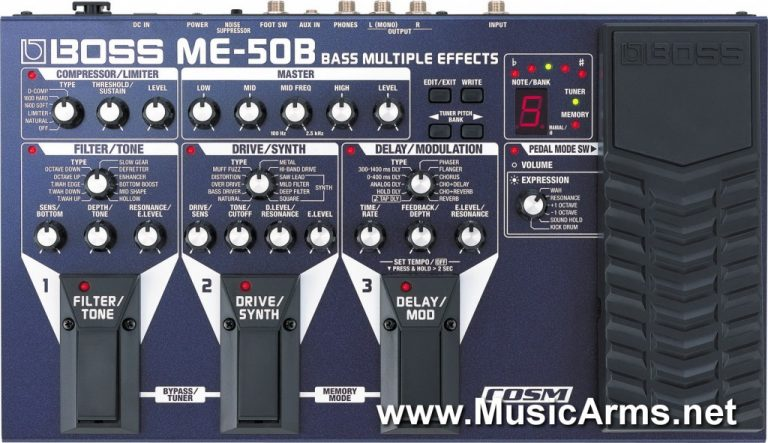 Boss ME-50B ขายราคาพิเศษ