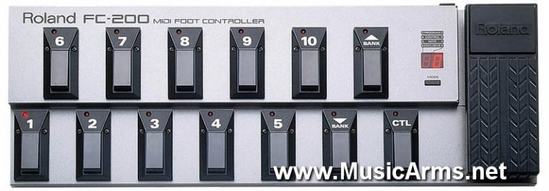 Boss FC-200 MIDI Foot Controller ขายราคาพิเศษ