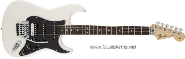 Standard Stratocaster® HSS with Floyd Rose-RW Olympic White ขายราคาพิเศษ