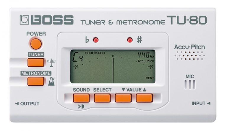 Boss  TU-80 Tuners/Metronomes ขายราคาพิเศษ