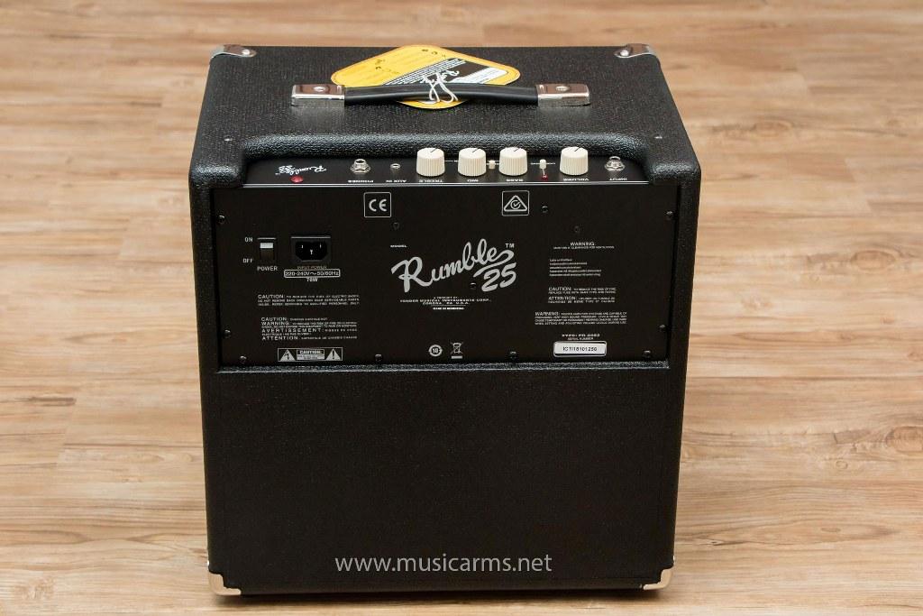 ด้านหลัง Fender Rumble 25