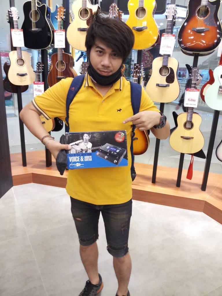 ลูกค้าที่ซื้อ TC Electronic Play Acoustic (Voice+Guitar)